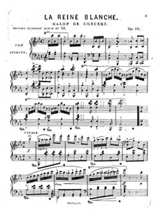La Reine Blanche, Op.40: La Reine Blanche by Brinley Richards