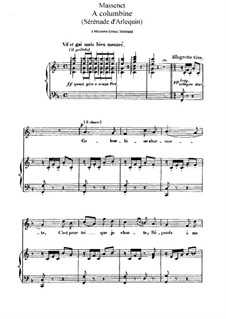 Selected Songs I: Selected Songs I by Jules Massenet