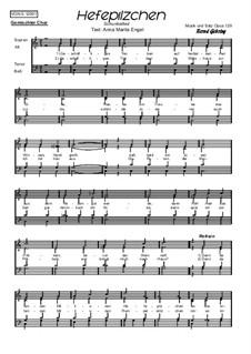 Hefepilzchen, Op.129: Hefepilzchen by Bernd Gehring