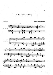 The King Pippin: The King Pippin by Charles Louis Napoleon d'Albert