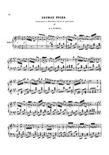 Dagmar Polka: Para Piano by Hans Christian Lumbye