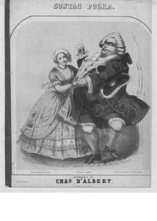 Sontag Polka: Arrangement by d'Albert by Giulio Alary