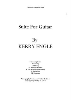 Suite for Guitar: Suite for Guitar by Kerry Engle