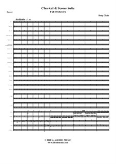 Classical and Scores Suite: Full orchestra, AMSM12 by Doug Clyde