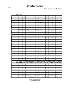 Creaturehouse: Full orchestra, AMSM19 by Steven Grames, Eric Kartchner