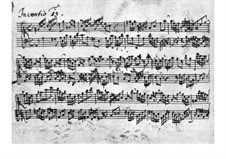 No.13 in A Minor, BWV 784: para cravo by Johann Sebastian Bach
