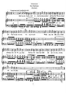 Im Herbste: Im Herbste by Robert Schumann