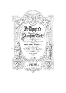 Grand Brilliant Waltz in E Flat Major, Op.18: para piano (com dedilhado) by Frédéric Chopin