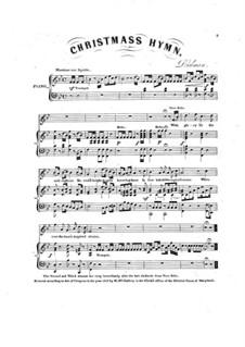 Christmas Hymn: Christmas Hymn by Henry Dielman