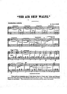 The Air Ship Waltz for Piano (or Organ): The Air Ship Waltz for Piano (or Organ) by Isaac Doles