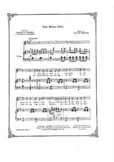 The Motor Girl: The Motor Girl by Julian Edwards