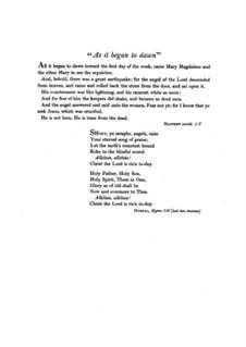 As it Began to Dawn: As it Began to Dawn by F. Flaxington Harker