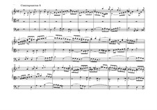 The Art of Fugue, BWV 1080: No.5 by Johann Sebastian Bach