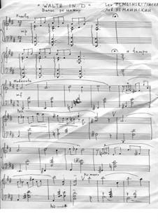 Waltz in D: Waltz in D by Lev Zemlinski
