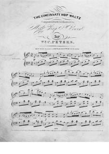 The Cincinnati Hop Waltz: The Cincinnati Hop Waltz by William Cumming Peters