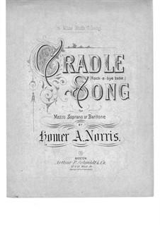 Cradle Song: Cradle Song by Homer Albert Norris