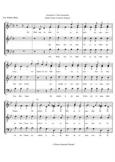 Winterreise, Op.23: Nr.5 Der Lindenbaum by Werner Schneider-Wiegand