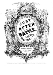 Just after Battle: Just after Battle by George Frederick Root