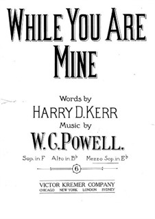 While You are Mine: While You are Mine by William C. Polla