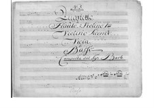 Quartet for Flute (or Violin) and Strings in A Major: Quartet for Flute (or Violin) and Strings in A Major by Johann Christian Bach