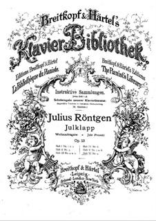 Julklapp (Jule Present), Op.12: Julklapp (Jule Present) by Julius Röntgen