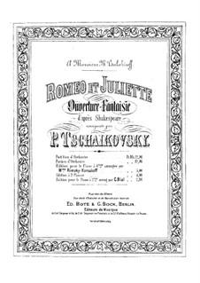 Complete Overture: Para Piano by Pyotr Tchaikovsky