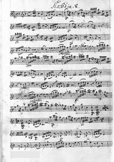 Symphony in F Major: Symphony in F Major by Carl Joseph Toeschi