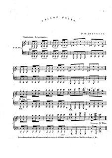 Gallop-Polka for Piano: Gallop-Polka for Piano by P. O. Basvecchi