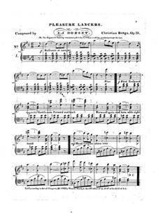 Pleasure lancers, Op.18: Pleasure lancers by Christian Berge