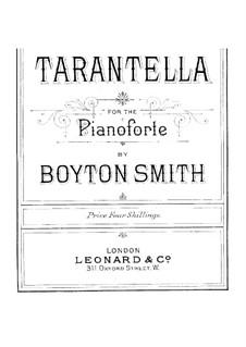 Tarantella: Para Piano by Boyton Smith