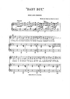 Baby Boy: Para voz, coro e piano by Isaac S. Daly
