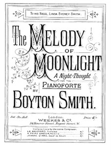 Melody of Moonlight: Melody of Moonlight by Boyton Smith