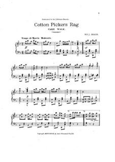 Cotton Pickers Rag: Cotton Pickers Rag by William J. Braun
