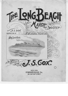 The Long Beach: The Long Beach by John S. Cox
