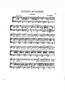 Kathleen Mavourneen: Para vocais e piano by Frederick Nicholls Crouch