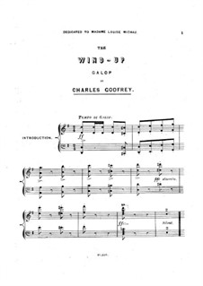The Wind-Up. Galop: The Wind-Up. Galop by Charles George Godfrey