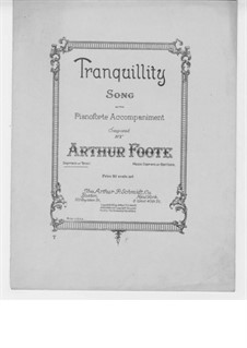 Tranquillity: Tranquillity by Arthur Foote