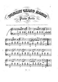 Diligent Grand March: Diligent Grand March by John A. Janke Jr.