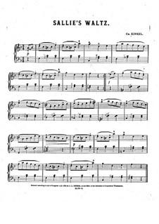 Sallie's Waltz: Sallie's Waltz by Charles Kinkel