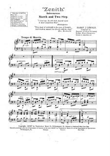 Zenith. Intermezzo: Zenith. Intermezzo by Harry J. Lincoln