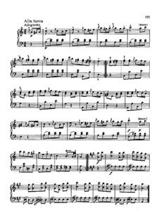 Rondo alla turca: para um único musico (Editado por H. Bulow) by Wolfgang Amadeus Mozart