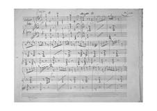 Potpourri for Violin and Piano: Potpourri for Violin and Piano by Gaetano Donizetti