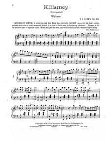 Killarney, Op.320: Killarney by Frank Hoyt Losey