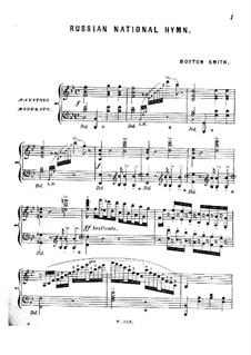 Russian National Hymn: Russian National Hymn by Boyton Smith