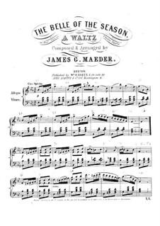 The Belle of the Season: The Belle of the Season by James G. Maeder