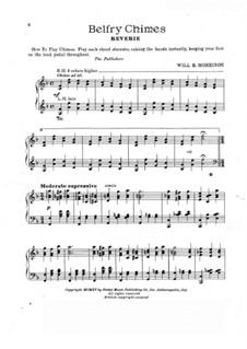Belfry Chimes: Belfry Chimes by William Burdette Morrison