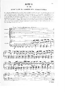 Le prophète (The Prophet): Ato III by Giacomo Meyerbeer