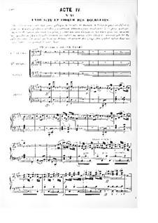 Le prophète (The Prophet): atos IV-V by Giacomo Meyerbeer