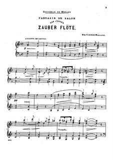 Fantasia on Theme from 'The Magic Flute' by Mozart: Fantasia on Theme from 'The Magic Flute' by Mozart by William Vincent Wallace