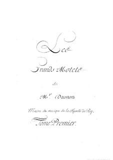 Grand Motets: Grand Motets by Henry Du Mont